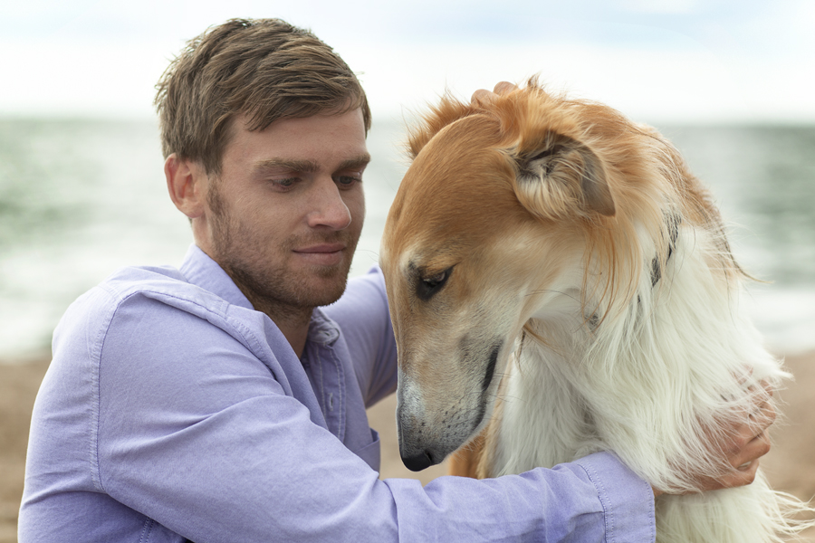 Nicolas Lombaerts and the dog. ??????? ????????