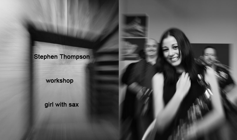 Photography courses and workshops - the girl with a saxophone. Author Stephen (2)