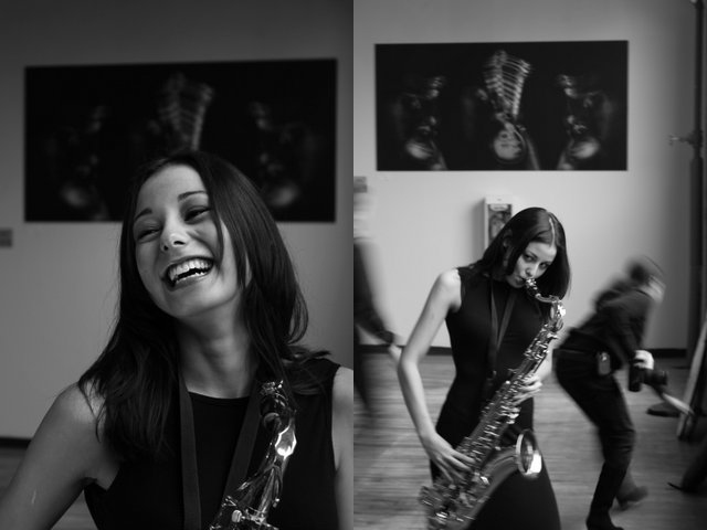 Photography courses and workshops - the girl with a saxophone. Author Stephen (1)