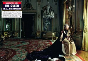 Photography courses and workshops - Queen Elizabeth II by Annie Leibovitz (1)