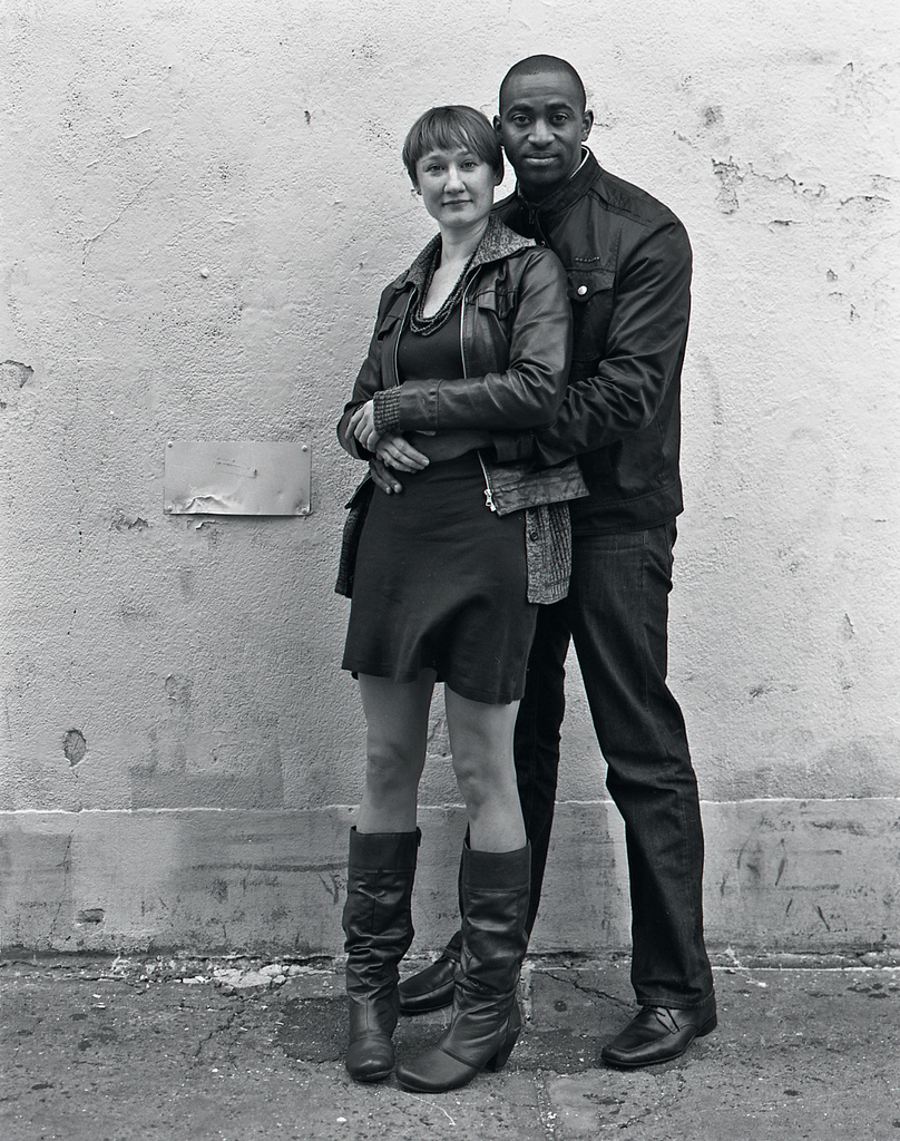 Photography courses and workshops - black and white portraits of black and white couples (10)