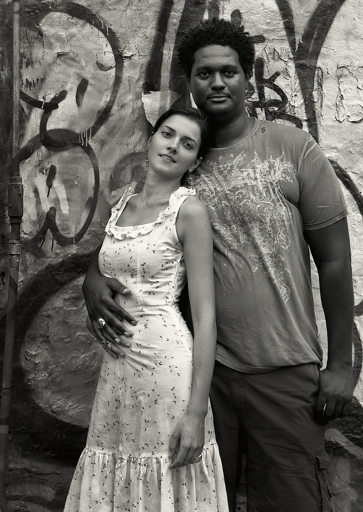 Photography courses and workshops - black and white portraits of black and white couples (9)