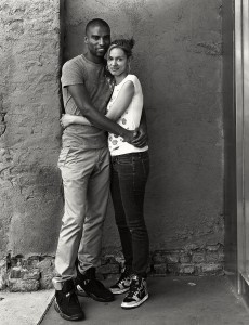 Photography courses and workshops - black and white portraits of black and white couples (7)