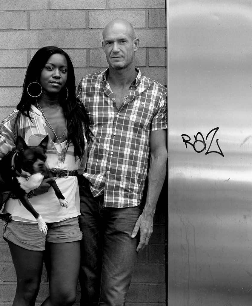 Photography courses and workshops - black and white portraits of black and white couples (6)