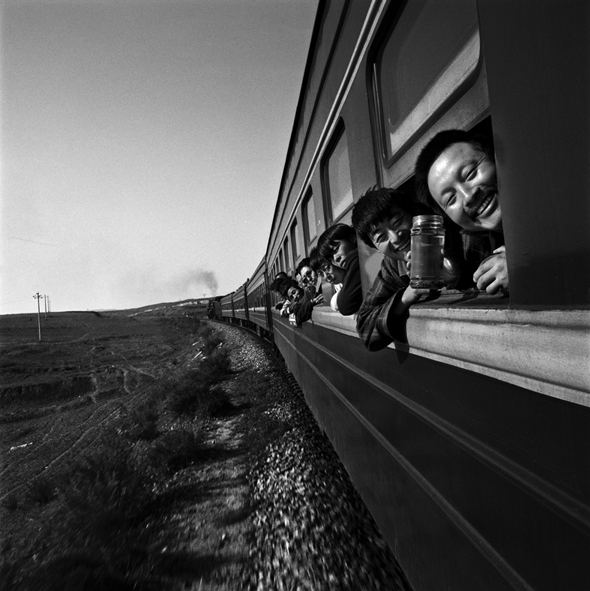 "Photography courses and workshops - Wang Fuchun ""Chinese People on the Train"" (12)"