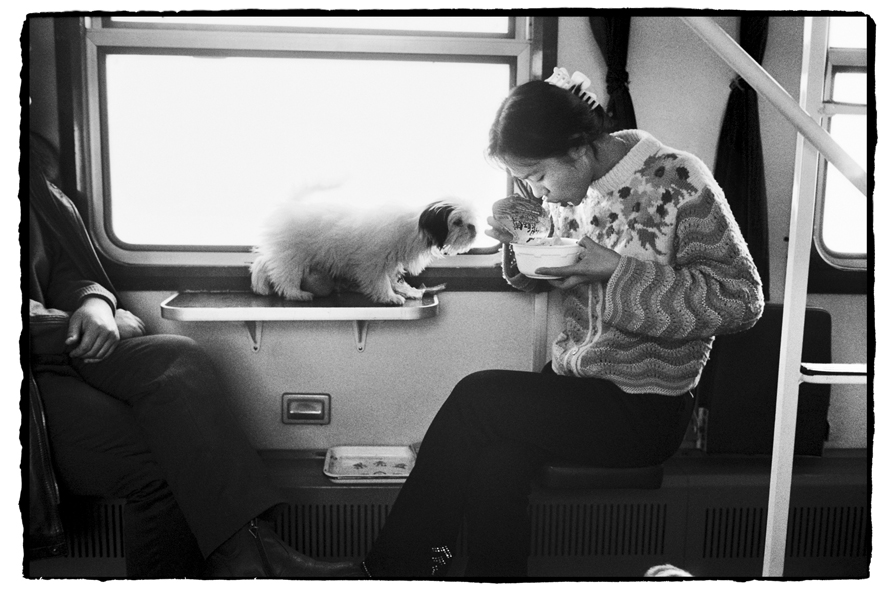 "Photography courses and workshops - Wang Fuchun ""Chinese People on the Train"" (3)"
