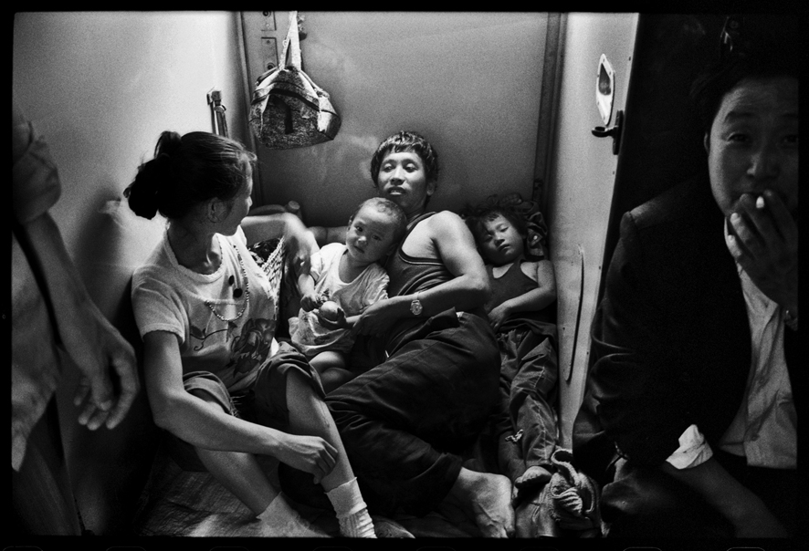"""Photography courses and workshops - Wang Fuchun """"Chinese People on the Train"""" (2)"""