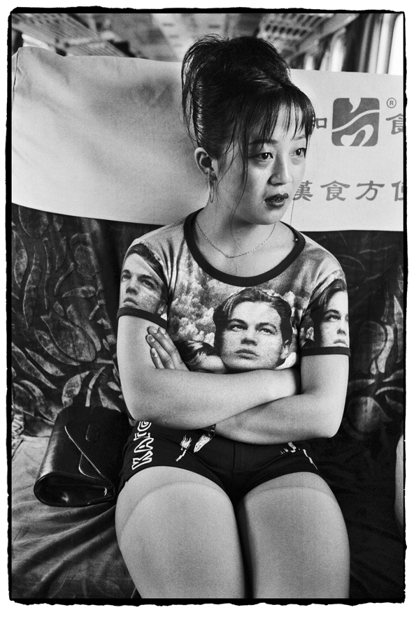 "Photography courses and workshops - Wang Fuchun ""Chinese People on the Train"" (11)"