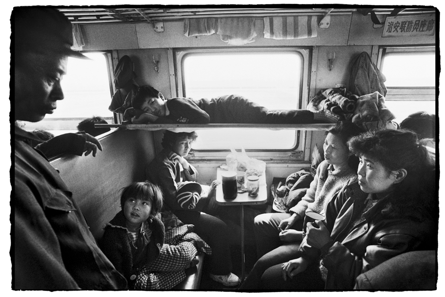 "Photography courses and workshops - Wang Fuchun ""Chinese People on the Train"" (10)"
