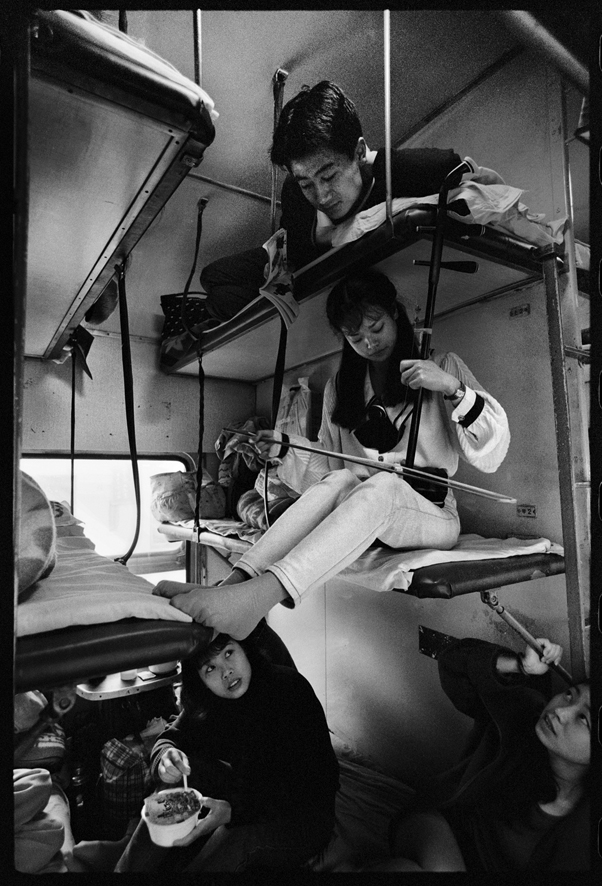 "Photography courses and workshops - Wang Fuchun ""Chinese People on the Train"" (8)"