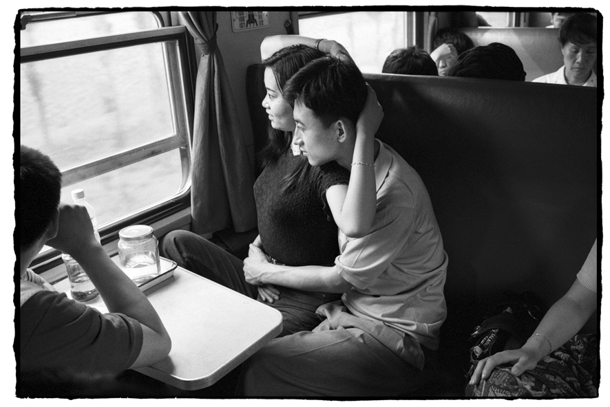 "Photography courses and workshops - Wang Fuchun ""Chinese People on the Train"" (18)"