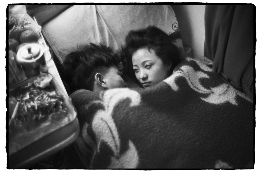 "Photography courses and workshops - Wang Fuchun ""Chinese People on the Train"" (16)"
