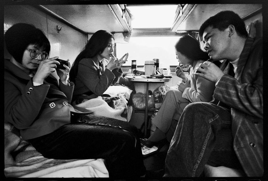 "Photography courses and workshops - Wang Fuchun ""Chinese People on the Train"" (14)"
