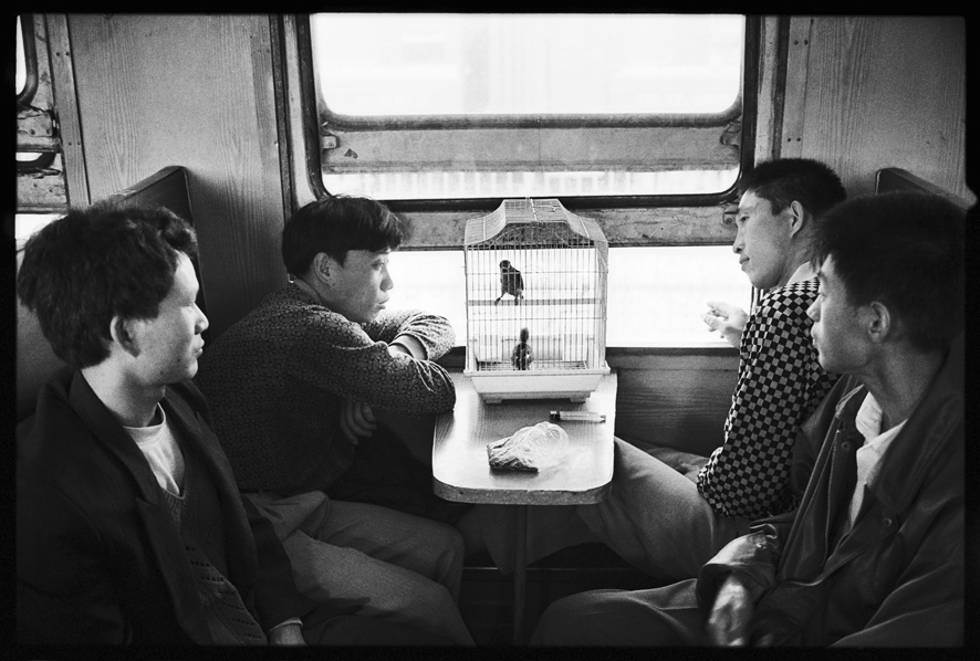 "Photography courses and workshops - Wang Fuchun ""Chinese People on the Train"" (7)"