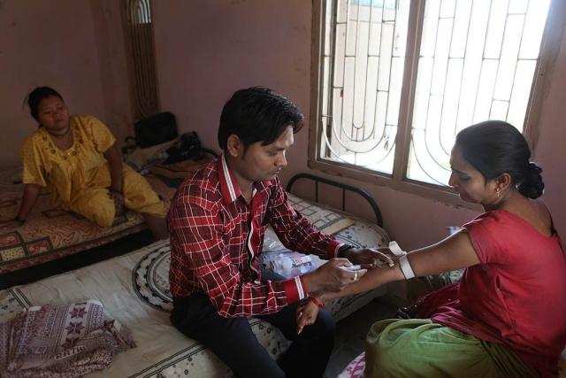 Polina Fedorova. Surrogacy India. Dr.Patel clinic. (15)