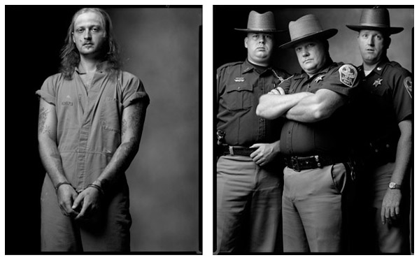 Photography courses and workshops. Mark Laita. Created equal. Bank Robber / Deputies, 2000 / 2000